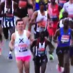 Thames leads the London Marathon (for the first mile)